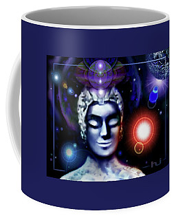 Buddha - Be At Peace Coffee Mug by Hartmut Jager