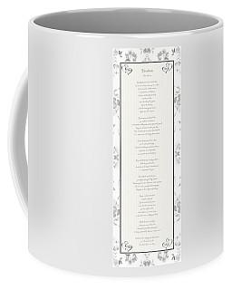 Desiderata In Silver Script By Max Ehrmann Coffee Mug