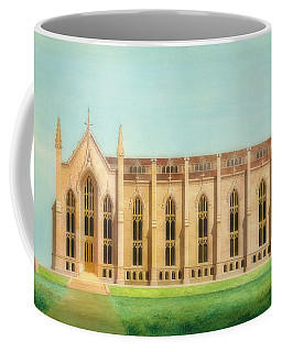 Design For The North Wing Of The Library And Chapel At The Unive Coffee Mug