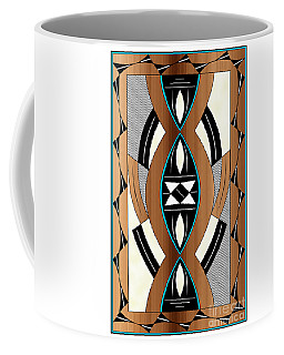 Southwest Collection - Design Two In Blue Coffee Mug
