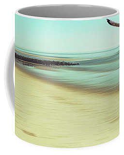 Coffee Mug featuring the photograph Desire Light Vintage2 by Hannes Cmarits