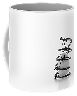 Destined To Be A Prisoner For Life Coffee Mug by Yvette Van Teeffelen