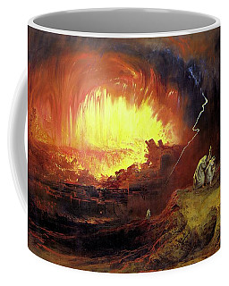 Destruction Of Sodom And Gomorah Coffee Mug