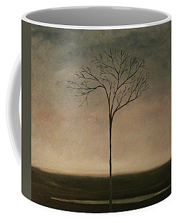 Coffee Mug featuring the painting Det Lille Treet - The Little Tree by Tone Aanderaa