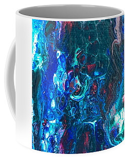 Coffee Mug featuring the painting Detail Of 2001 Hardy 2 by Robbie Masso