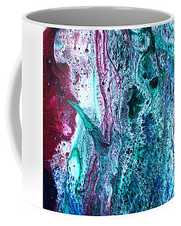 Coffee Mug featuring the painting Detail Of 2001 Hardy by Robbie Masso