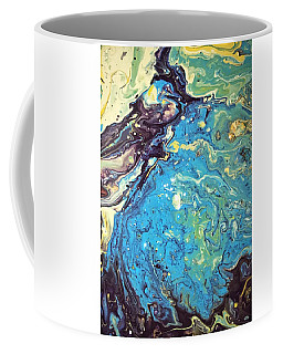 Coffee Mug featuring the painting Detail Of Conjuring 2 by Robbie Masso