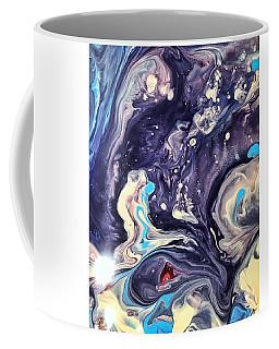 Detail Of Fluid Painting 1 Coffee Mug