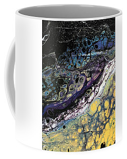 Coffee Mug featuring the painting Detail Of He Likes Space 2 by Robbie Masso