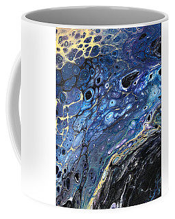 Coffee Mug featuring the painting Detail Of He Likes Space 5 by Robbie Masso