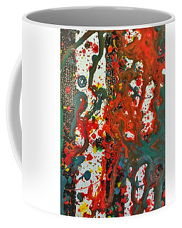 Coffee Mug featuring the painting Detail Of Hogwarts by Robbie Masso