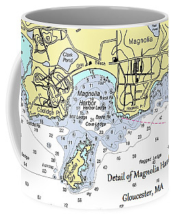 Detail Of Magnolia Harbor Coffee Mug