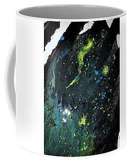 Detail Of Mixed Media Painting 2 Coffee Mug