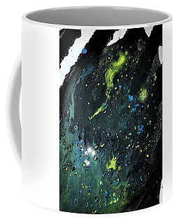 Coffee Mug featuring the painting Detail Of Mixed Media Painting 2 by Robbie Masso