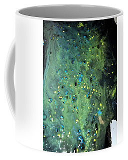 Detail Of Mixed Media Painting Coffee Mug