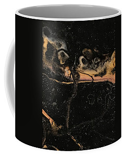 Coffee Mug featuring the painting Detail Of New Orleans Saxophone by Robbie Masso