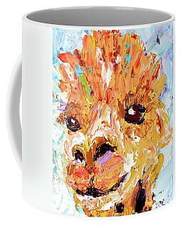 Detail Of Shorn Alpaca. Where's My Fleece? Coffee Mug