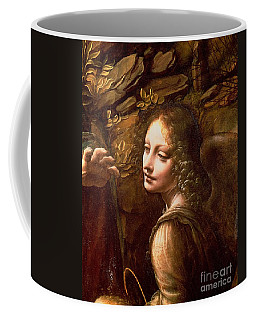 Detail Of The Angel From The Virgin Of The Rocks  Coffee Mug