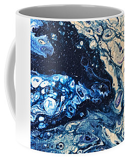 Coffee Mug featuring the painting Detail Of Tree Of Life by Robbie Masso