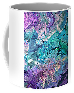 Coffee Mug featuring the painting Detail Of Waves 2 by Robbie Masso