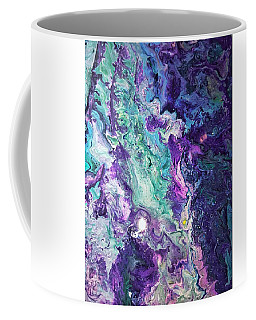 Coffee Mug featuring the painting Detail Of Waves 3 by Robbie Masso