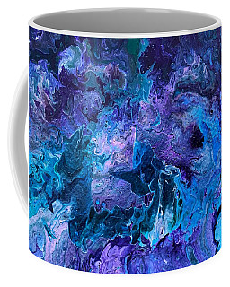 Coffee Mug featuring the painting Detail Of Waves 5 by Robbie Masso