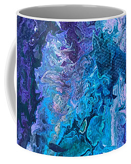 Coffee Mug featuring the painting Detail Of Waves 6 by Robbie Masso