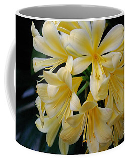 Details In Yellow And White Coffee Mug by John S