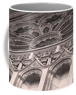 Details Of The National Cathedral Coffee Mug