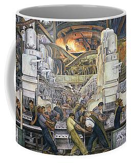 Detroit Industry   North Wall Coffee Mug