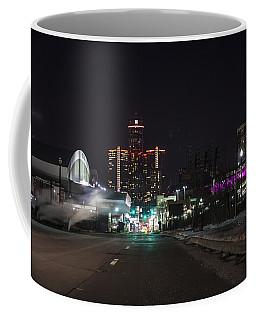 Coffee Mug featuring the photograph Detroit Michigan by Nicholas Grunas