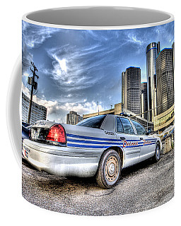 Detroit Police Coffee Mug