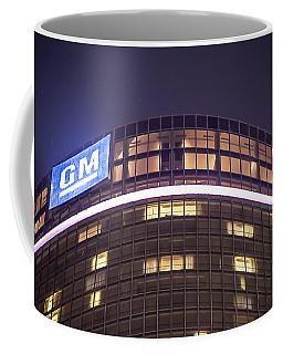 Coffee Mug featuring the photograph Detroit Renaissance Center by Nicholas  Grunas