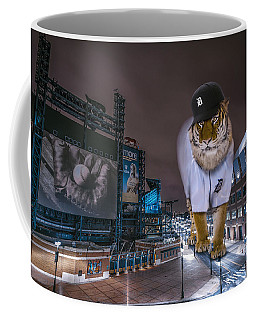 Detroit Tigers At  Comerica Park Coffee Mug