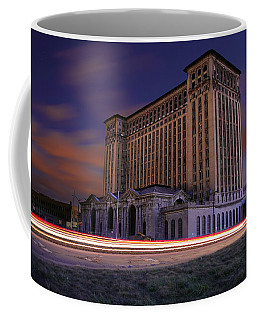Detroit's Abandoned Michigan Central Station Coffee Mug