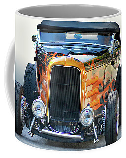 Coffee Mug featuring the photograph Deuce Head-on by Bill Dutting