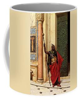 Deutsch Ludwig A Nubian Guard Coffee Mug