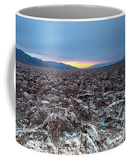 Coffee Mug featuring the photograph Devil's Golf Course  by Catherine Lau