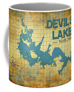 Devils Lake North Dakota Coffee Mug