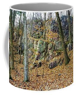 Devils Lake Rock Formation  Coffee Mug