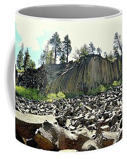 Devils Postpile Wide Coffee Mug