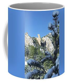 Devil's Thumb In Winter Coffee Mug