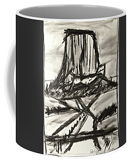 Devils Tower Coffee Mug by Brenda Pressnall