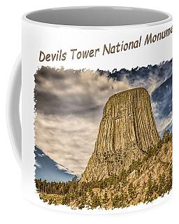Devils Tower Inspiration 2 Coffee Mug