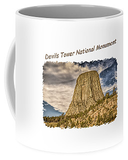Devils Tower Inspiration 2 Coffee Mug