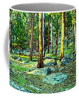 Devils Tower Morning Coffee Mug by Dave Luebbert