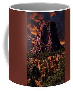 Devils Tower Sunrise Coffee Mug