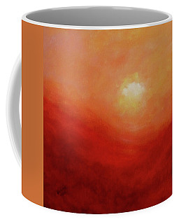 Coffee Mug featuring the painting Devotion by Valerie Anne Kelly