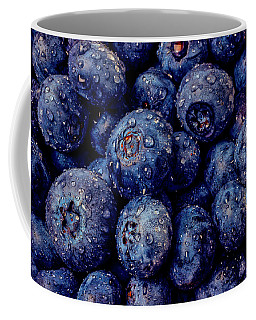 Dew Covered Blueberries Coffee Mug