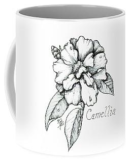 Dew Kissed Camellia Coffee Mug
